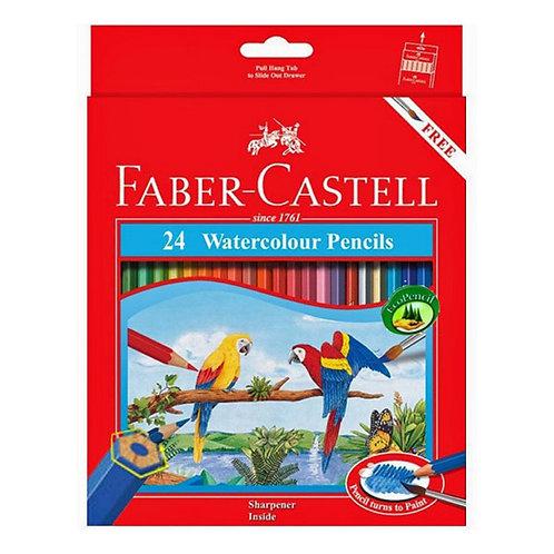 Faber Castell Watercolour Pencils - Set of 24