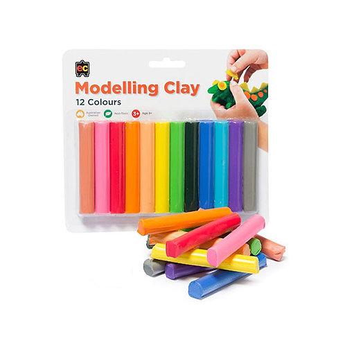 EC Rainbow Modelling Clay