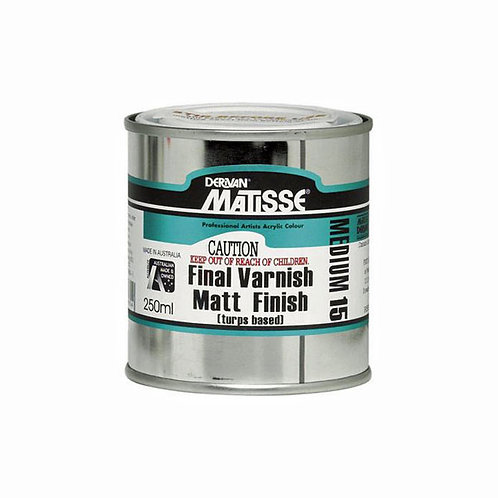 Matisse MM15 Final Varnish Matt Finish