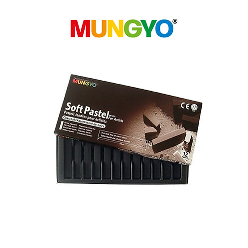 Mungyo Soft Pastel Charcoal For Artists