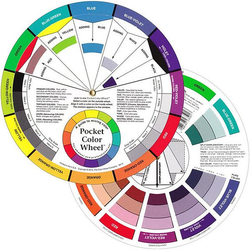 Artists' Pocket Colour Wheel 13cm