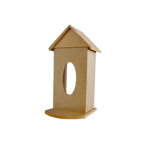 MDF Tissue Box House