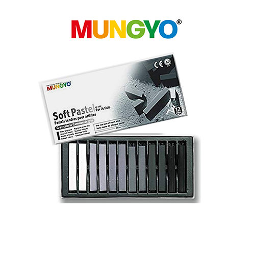 Mungyo Soft Pastel Greys For Artists
