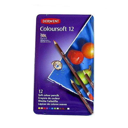 Derwent Coloursoft 12