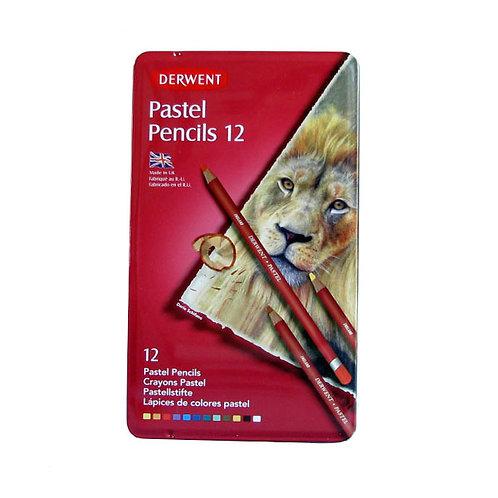 Derwent Pastel Pencils 12