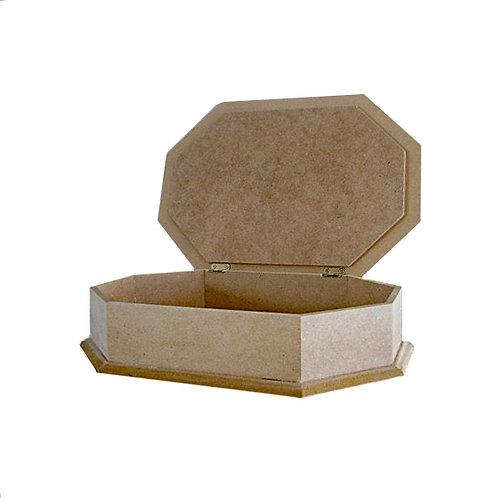 MDF Octagon Craft box