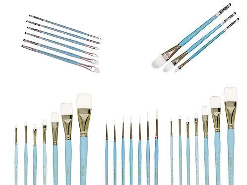 117C Art Basics Taklon Oval Comb