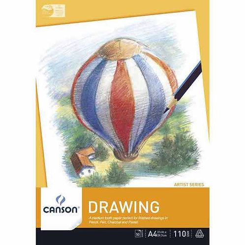 Canson Artist Series Drawing Pad 110GSM