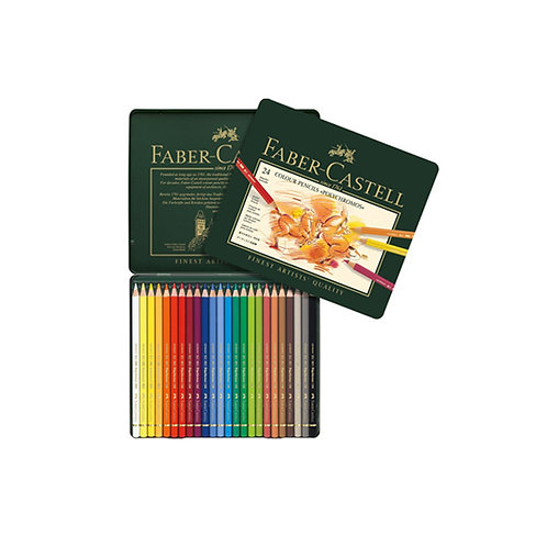 Faber Castell Polychromos Pencils - Set of 24