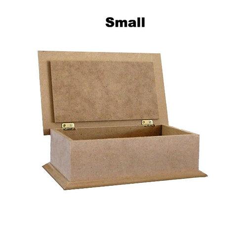 MDF Hinge Lid Box