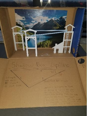 Solving Triangles Shadow Box