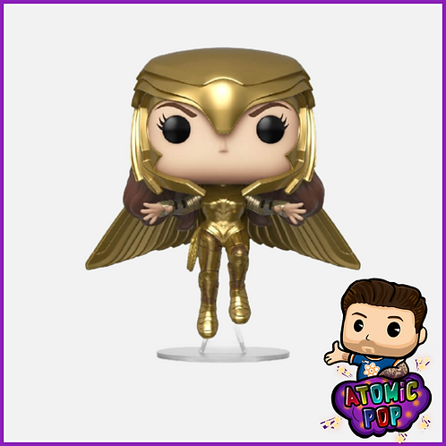 Wonder Woman 1984 - Wonder Woman (Golden Armor Flying) #324
