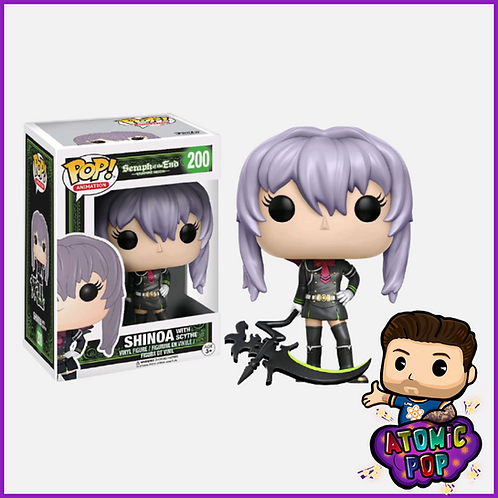 Seraph Of The End: Vampire Reign - Shinoa (with scythe) #200