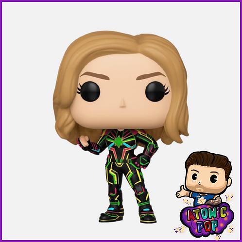 Captain Marvel -Captain Marvel Neon Suit Bobble-Head #516