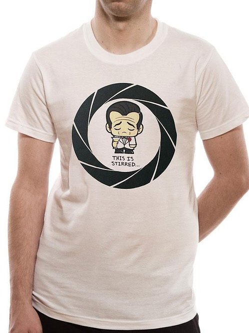 James Bond - This Is Stirred T-Shirt