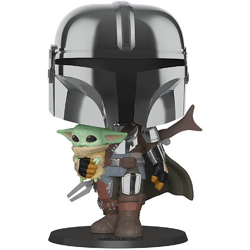 """Star Wars: The Mandalorian - The Mandalorian with The Child 10"""" #380"""