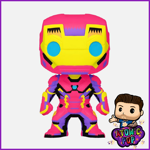 Marvel - Black Light Iron Man EXC #649