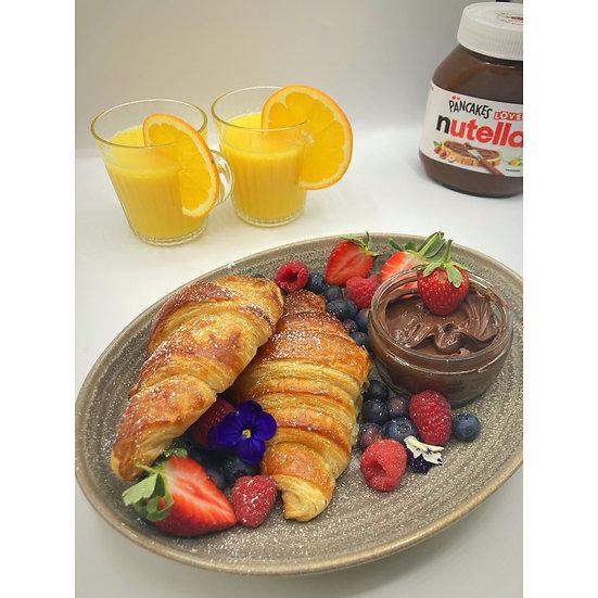 Breakfast Croissant Box