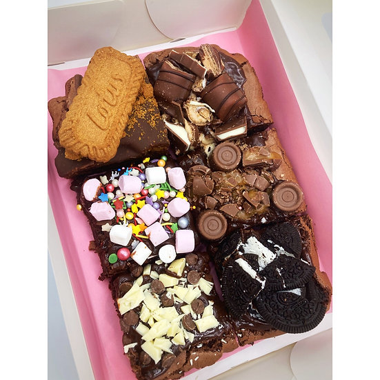 Belgian Chocolate Brownie box
