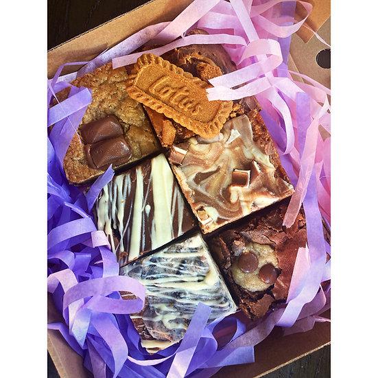 Cookie dough & Brownie box