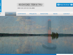 Welcome to our New Website Sponsor – Tarku Resources (TKU.V)
