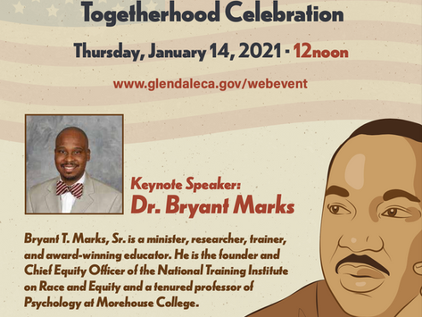 Join Us Virtually for the 5th Annual Dr. Martin Luther King Jr. Togetherhood Celebration!
