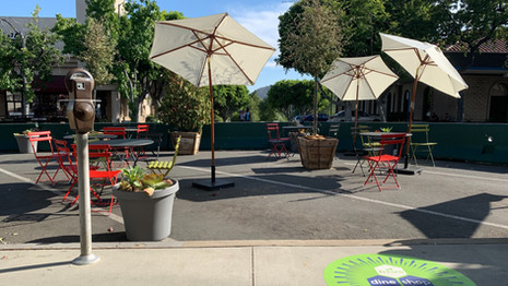 Al Fresco Glendale Dining Suspended to Abide by LA County Public Health Orders