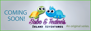 BOBO & TEDEE fetures Green Turtle and Blue Iguana and their friends from all over the world. They will take you to an adventure. Kids Programm, Produced by SANDS Production Company, Content Creator in the Cayman Islands