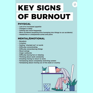 Mental health awareness week - can you spot the signs of burnout?