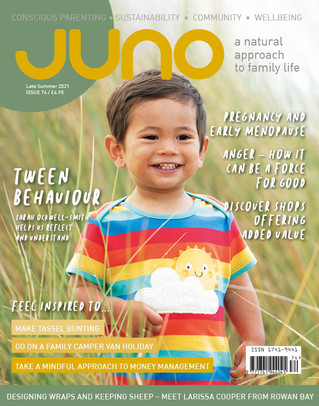 Family life post lockdown - Dr Laura Keyes writes for JUNO magazine