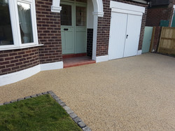 After -Resin Bound Aggregate