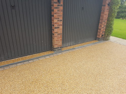 Resin Bound Aggregate Finish