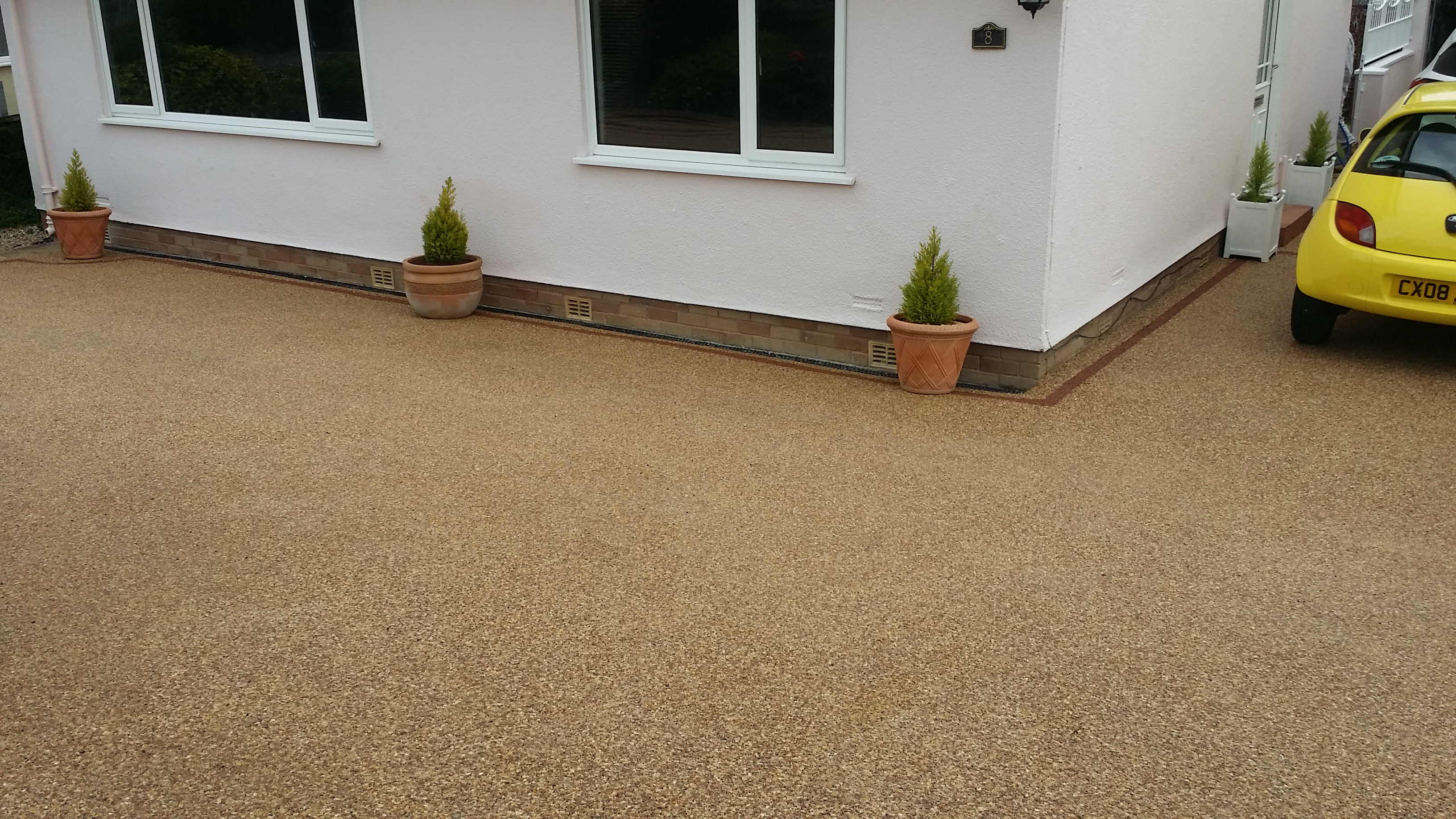 Resin Bound Gravel Finish