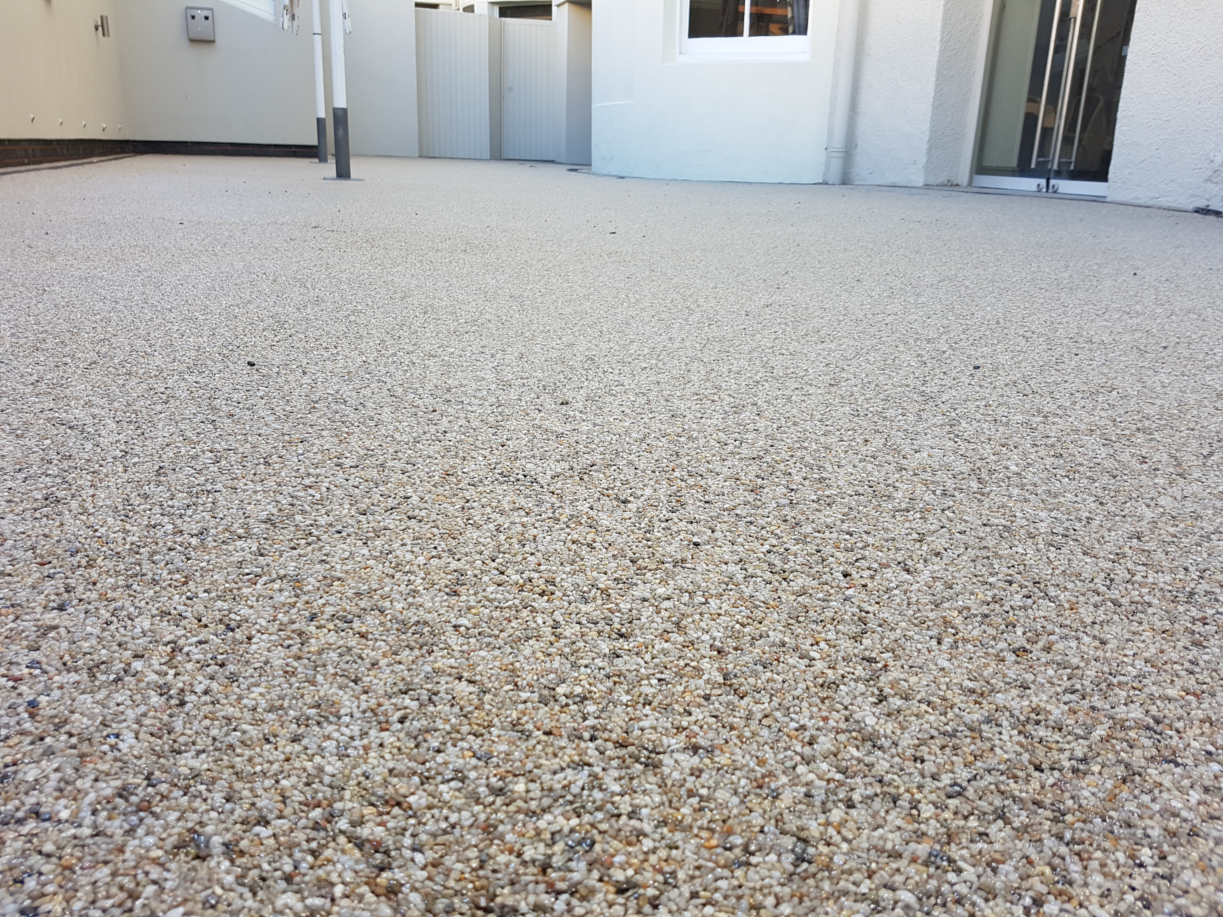 After Resin Bound Installation