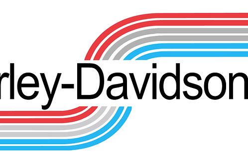 HARLEY-DAVIDSON AMF TANK DECALS
