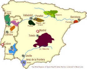 Spanish Wine. A beginners beginners guide