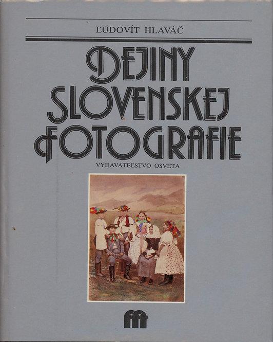 Hlaváč Ľudovít, Dejiny slovenskej fotografie