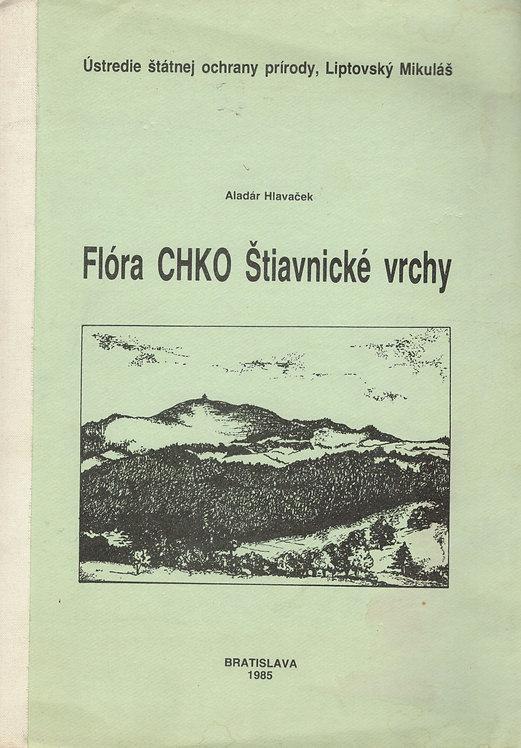 Hlavaček Aladár, Flóra CHKO Štiavnické vrchy