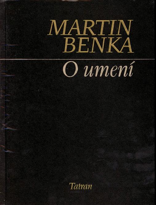 Benka Martin, O umení