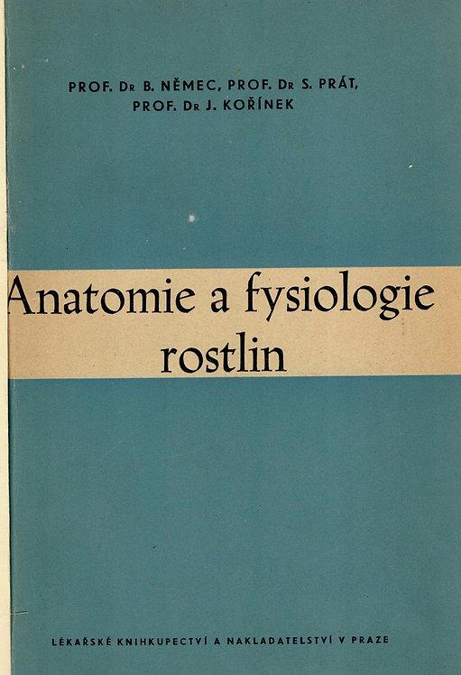 Němec Bohumil a kolektív, Anatomie a fysiologie rostlin, podpis autora