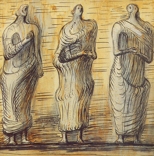 Henry Moore. Etchings and Lithographs 1949-1984