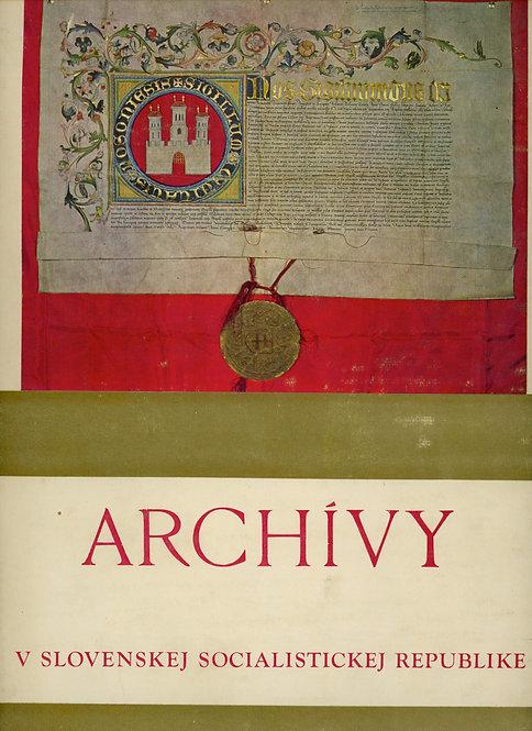 Archívy v Slovenskej socialistickej republike
