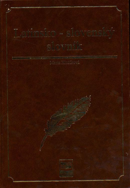 Hlušíková Marta, Latinsko-slovenský slovník