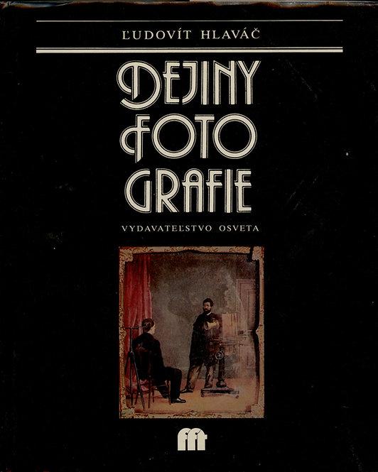 Hlaváč Ľudovít, Dejiny fotografie