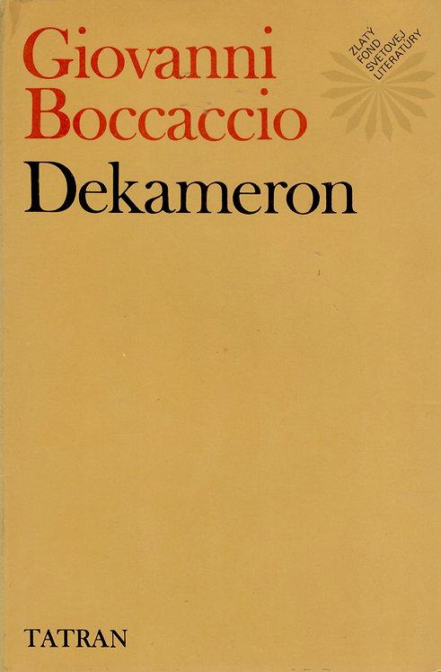 Boccacio Giovanni, Dekameron