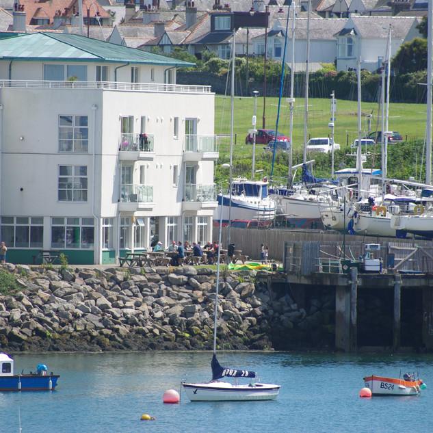 Moorings & boat yard