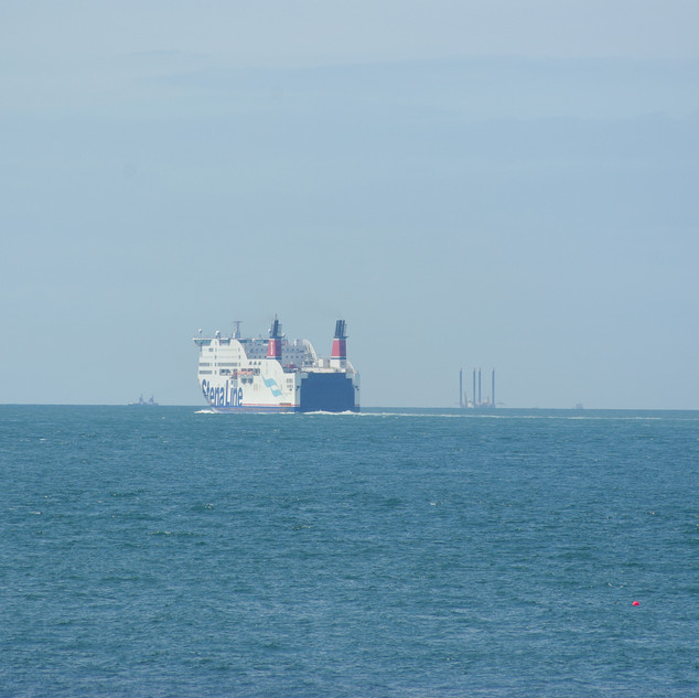 Stena Adventurer on her way to Dublin