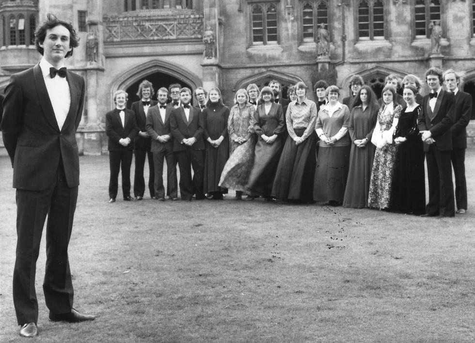 The Tallis Scholars in Oxford, 1977