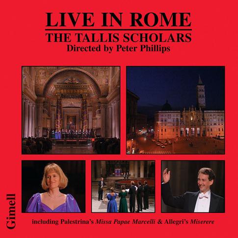 Live in Rome - The historic concert celebrating Palestrina's 400th anniversary.