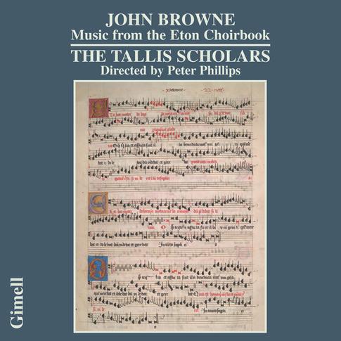 John Browne - Music from the Eton Choirbook